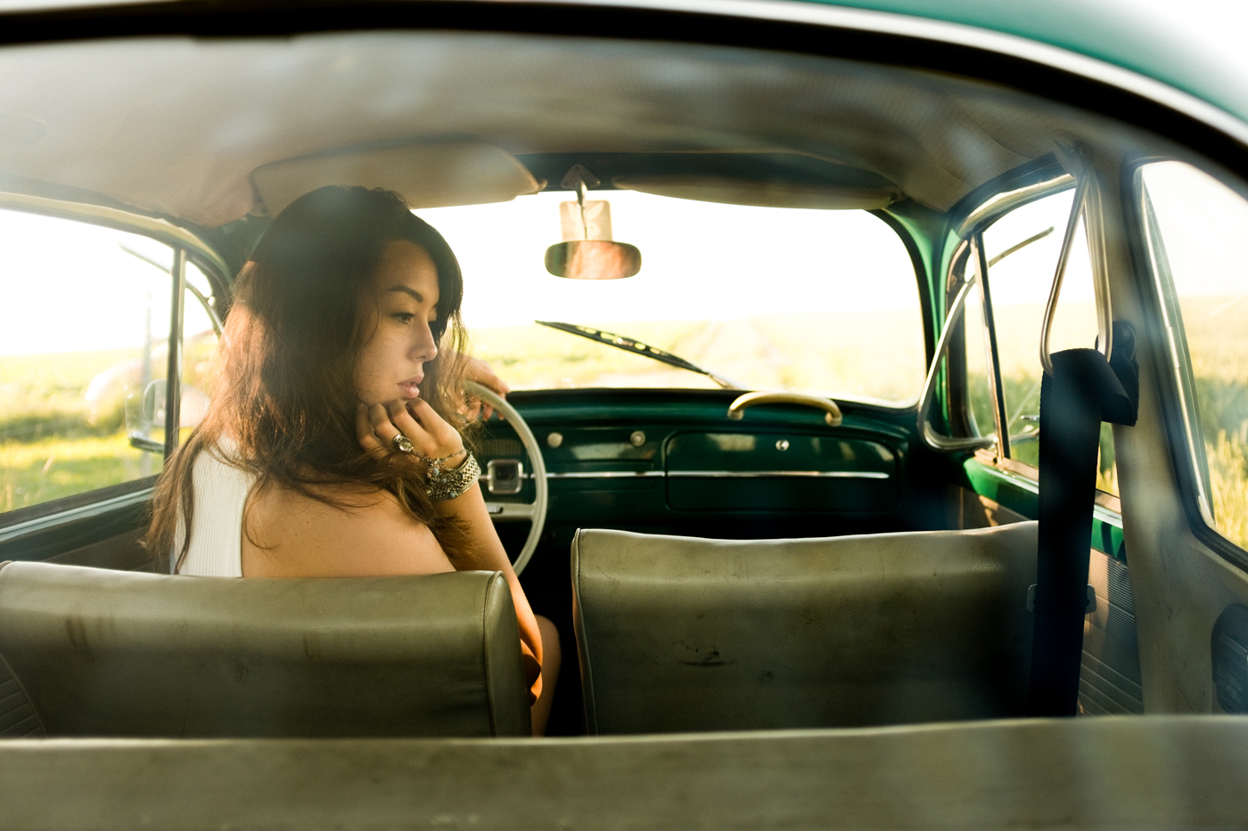 Julia-VW-Oldtimer-Portrait